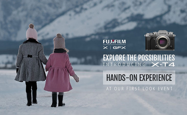 Fujifilm X-T4 Hands-on Event, Thursday, April 9, 5:00pm - 8:00pm