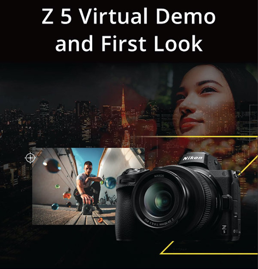 Nikon Z5 Virtual Demo and First Look